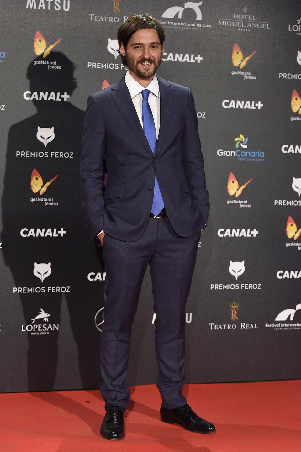 Carlos Marques-Marcet en los Premios Feroz 2015