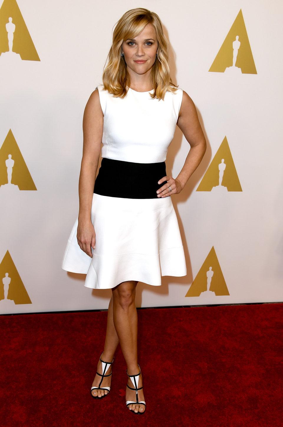 Reese Witherspoon en el almuerzo de los nominados a los Oscar 2015