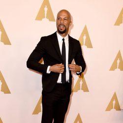 Common en el almuerzo de los nominados a los Oscar 2015