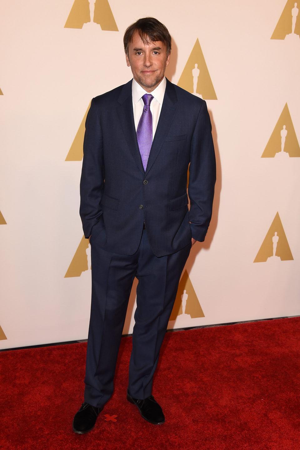 Richard Linklater en el almuerzo de los nominados a los Oscar 2015