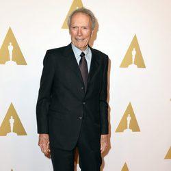 Clint Eastwood en el almuerzo de los nominados a los Oscar 2015