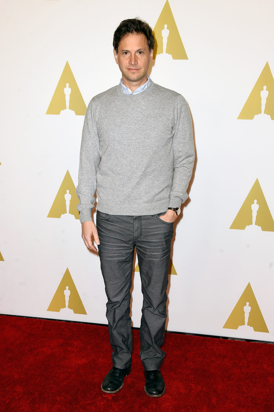 Bennett Miller en el almuerzo de los nominados a los Oscar 2015