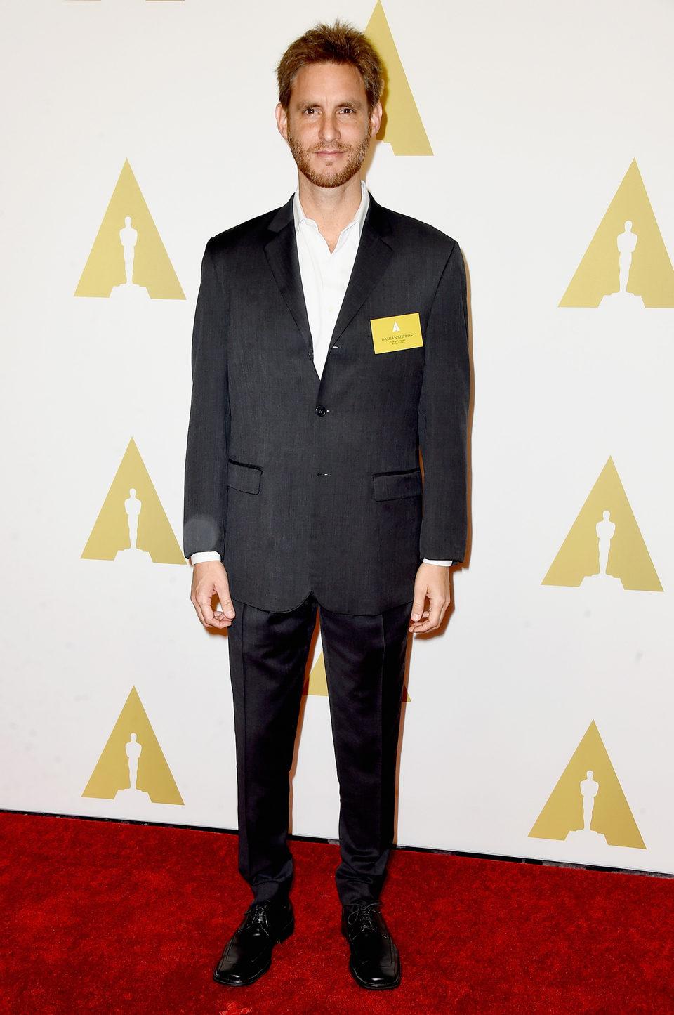 Damián Szifron en el almuerzo de los nominados a los Oscar 2015