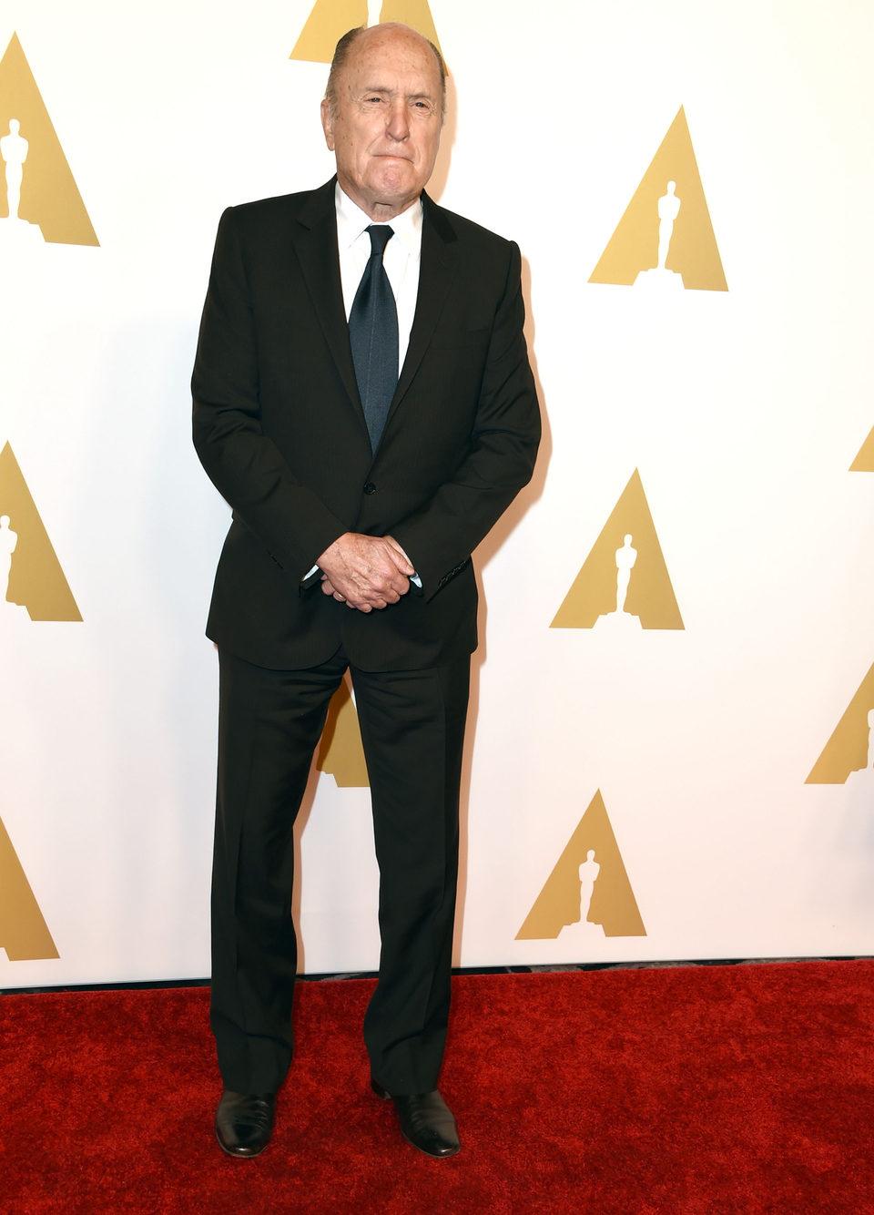 Robert Duvall en el almuerzo de los nominados a los Oscar 2015