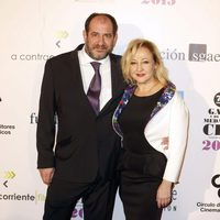 Karra Elejalde y Carmen Machi en las medallas del Círculo de Escritores Cinematográficos 2014