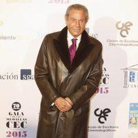 Arturo Fernández en las medallas del Círculo de Escritores Cinematográficos 2014