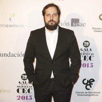 Carlos Vermut en las medallas del Círculo de Escritores Cinematográficos 2014