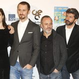 Nerea Barros, Raúl Arévalo, Javier Gutiérrez y Alberto Rodríguez en las medallas del Círculo de Escritores Cinematográficos 2014