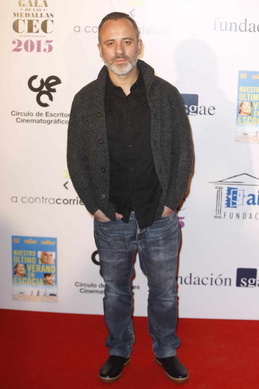Javier Gutiérrez en las medallas del Círculo de Escritores Cinematográficos 2014