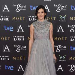 Ángeles González Sinde en los premios Goya 2015