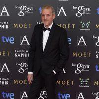 Jordi Rebellón en la alfombra roja de los Goya 2015