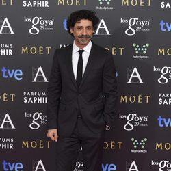 Nacho Fresneda en la alfombra roja de los Premios Goya 2015