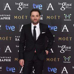Daniel Guzmán en los premios Goya 2015
