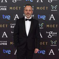 Javier Gutiérrez en los premios Goya 2015