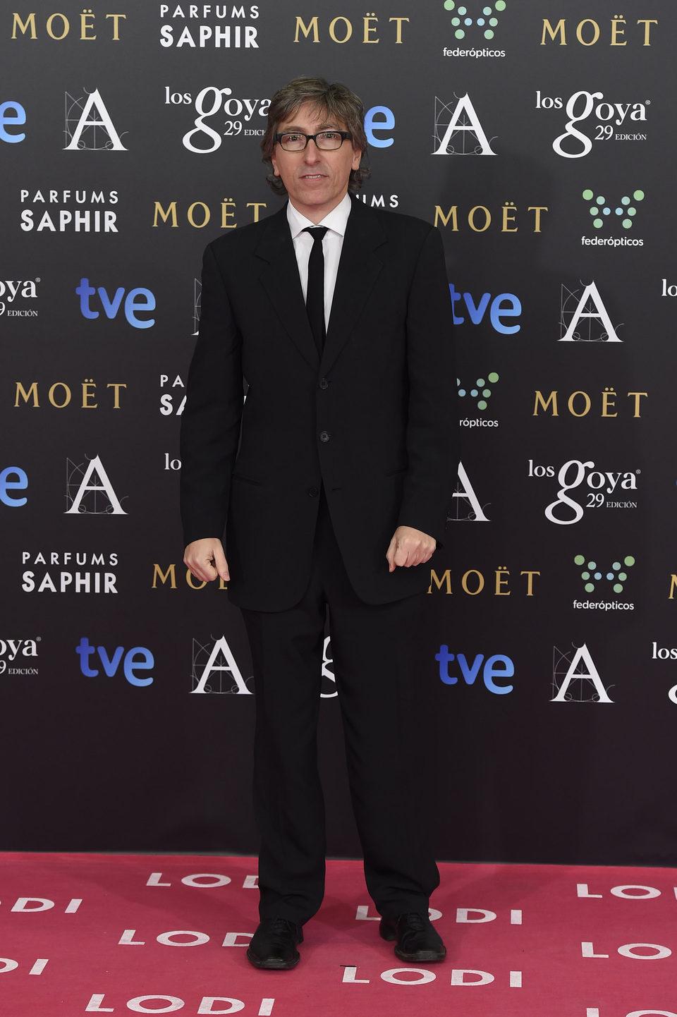 David Trueba en los Goya 2015