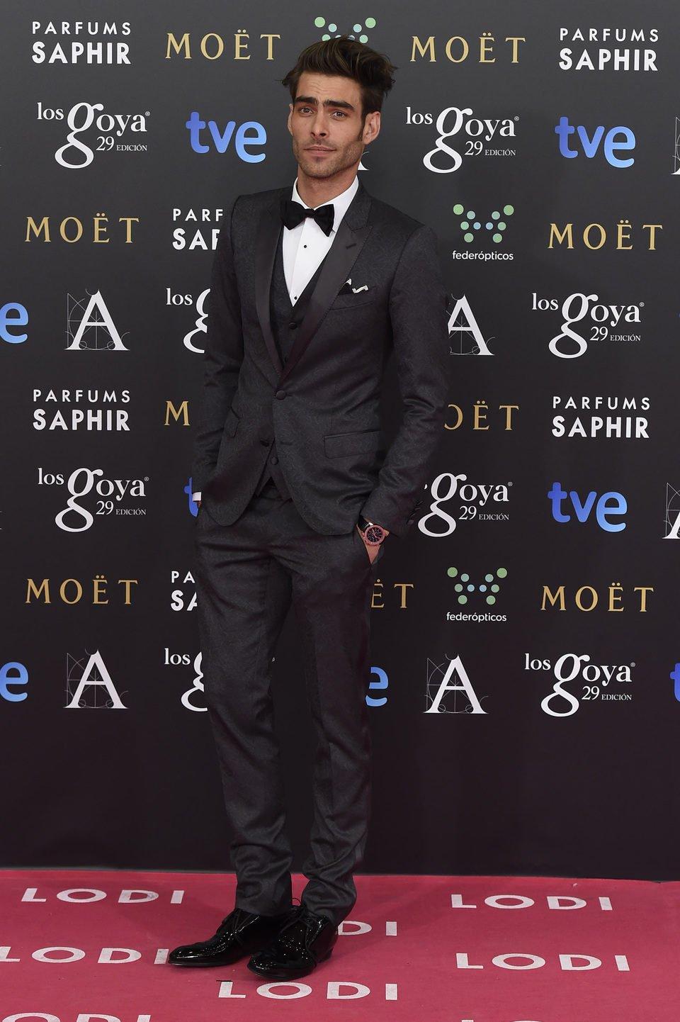 Jon Kortajarena en los Goya 2015
