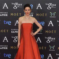Pilar López de Ayala en los Goya 2015