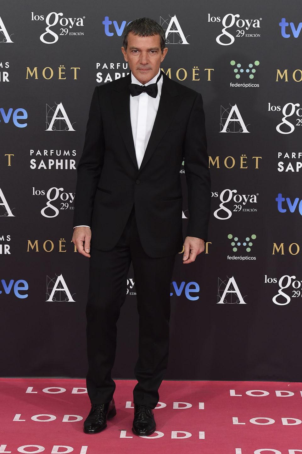 Antonio Banderas en los premios Goya 2015
