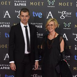 Toni Cantó y Rosa Díez en los Goya 2015