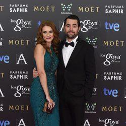 Elena Ballesteros y Dani Mateo en los Premios Goya 2015