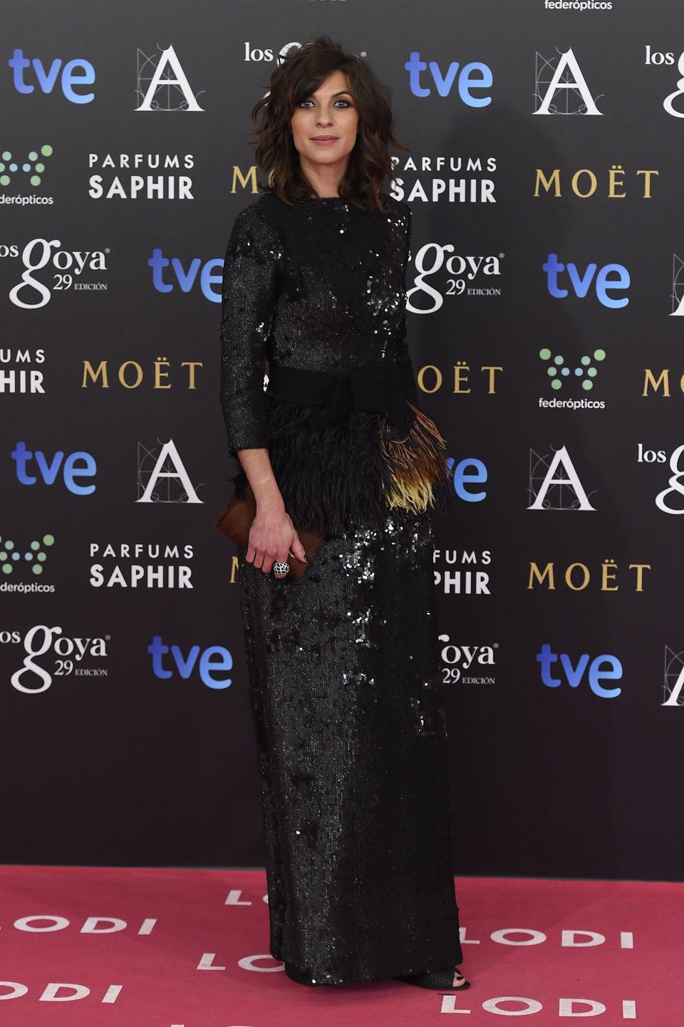 Natalia Tena en los Premios Goya 2015