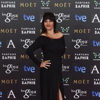 Yolanda Ramos en la alfombra roja de los Goya 2015