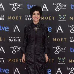 Adriana Ozores en la alfombra rosa de los Goya 2015