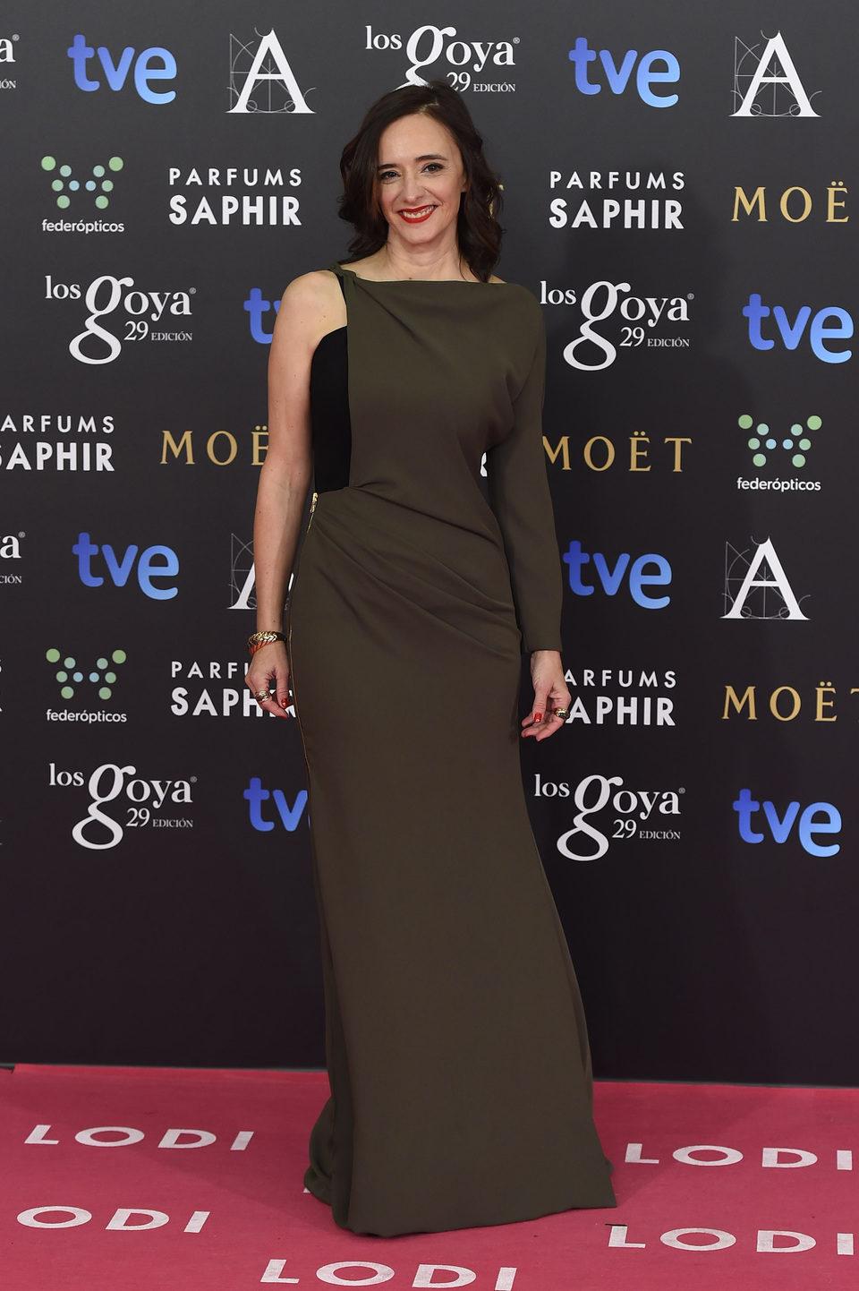 Ana Torrent en los Premios Goya 2015