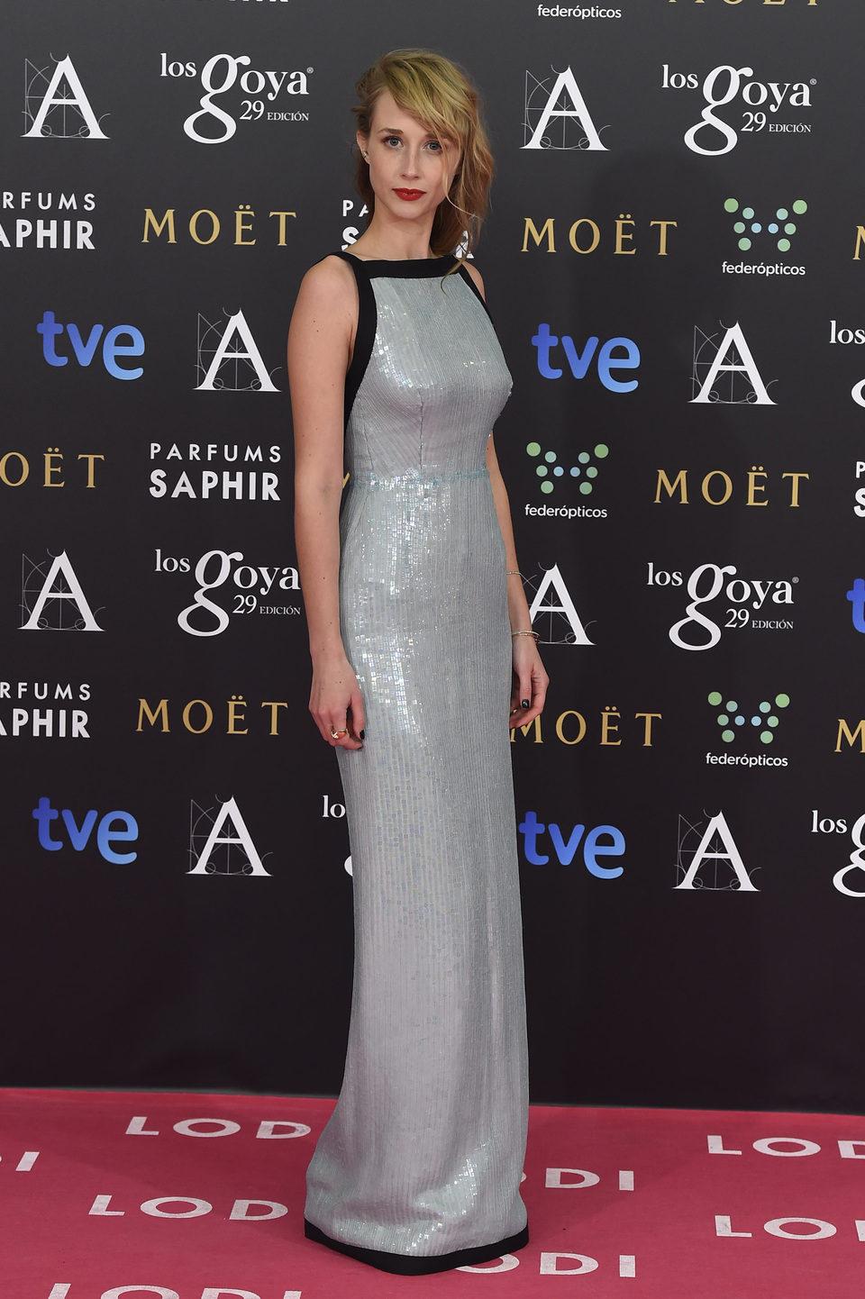 Ingrid García Jonsson en los Goya 2015