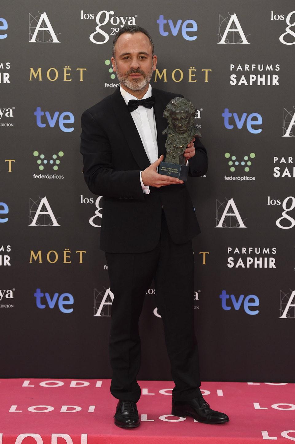 Javier Gutiérrez, Goya 2015 al mejor actor