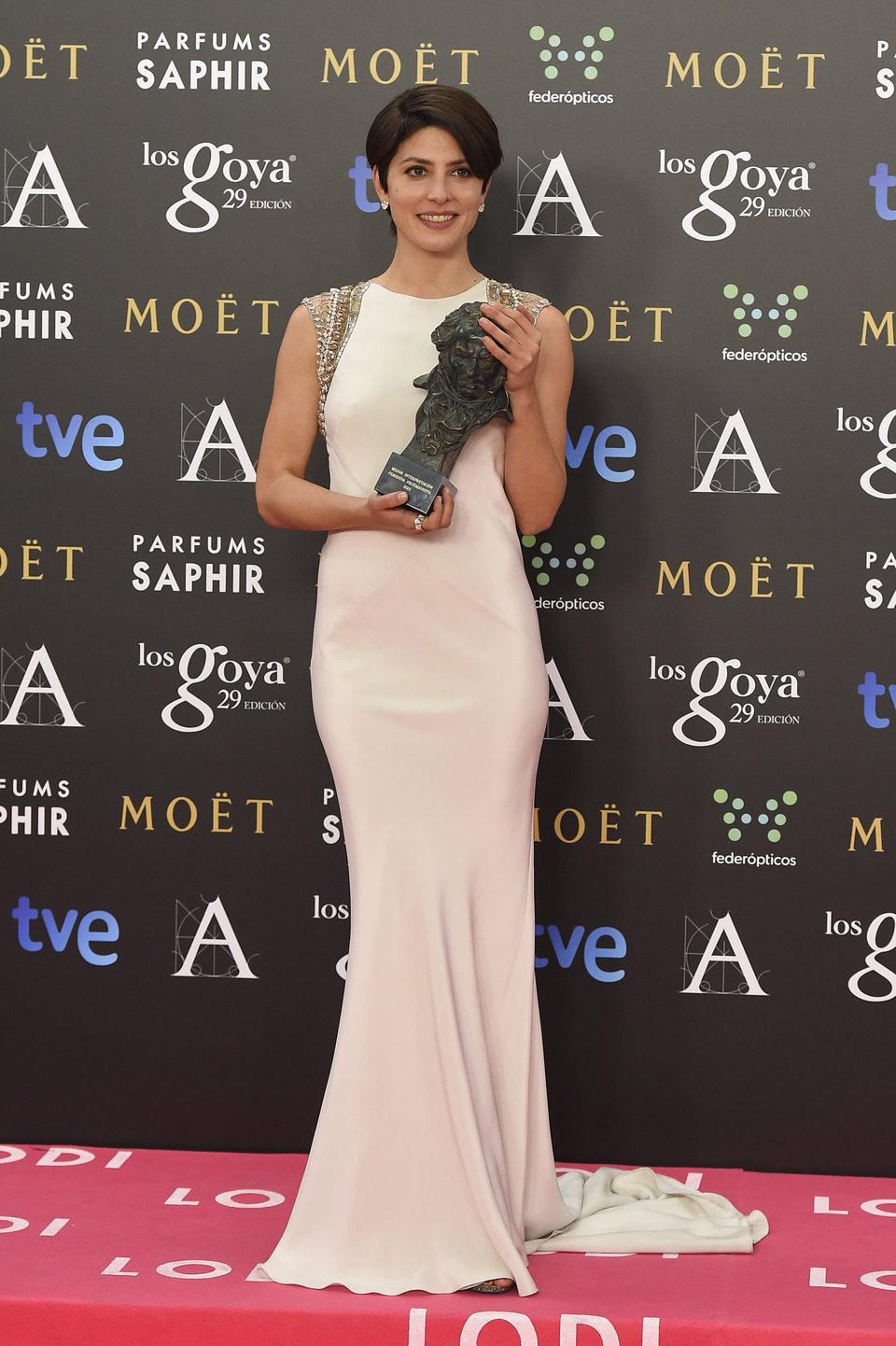 Bárbara Lennie, Goya 2015 a la mejor actriz