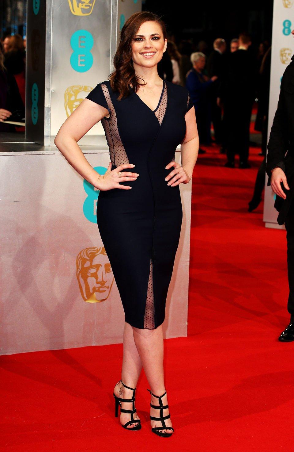 Hayley Atwell en los Premios BAFTA 2015
