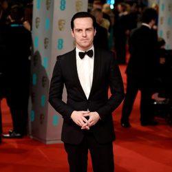 Andrew Scott en la alfombra roja de los BAFTA 2015