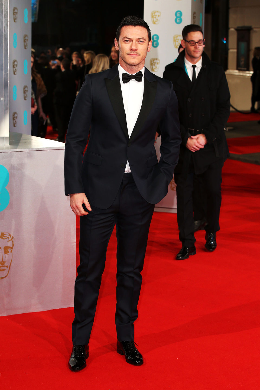 Luke Evans en los Premios BAFTA 2015
