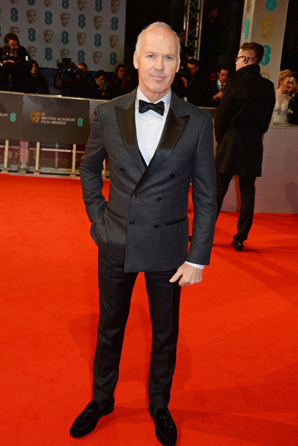 Michael Keaton en los BAFTA 2015