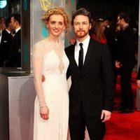 James McAvoy y Anne-Marie Duff en los BAFTA 2015