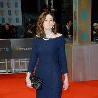 Amanda Barrie en los BAFTA 2015