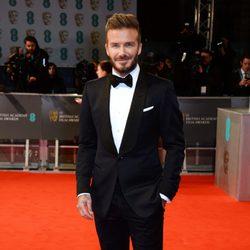 David Beckham en los BAFTA 2015