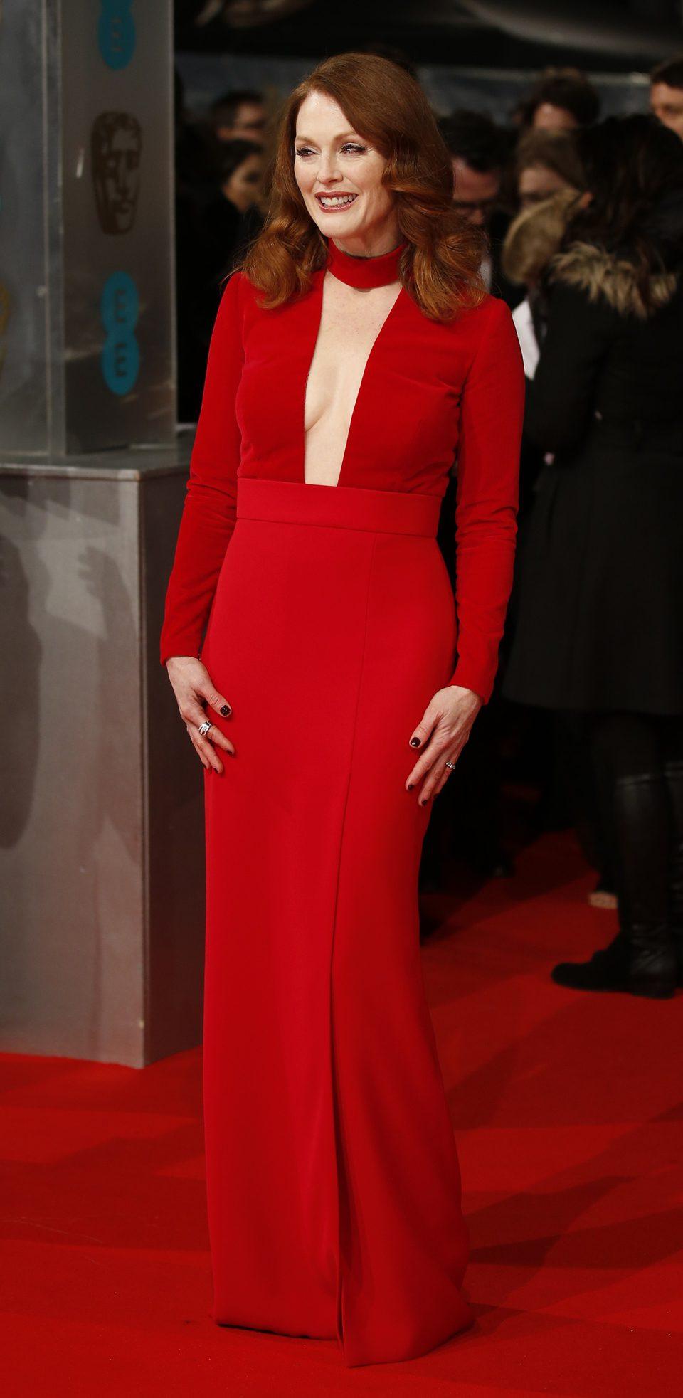 Julianne Moore en los BAFTA 2015