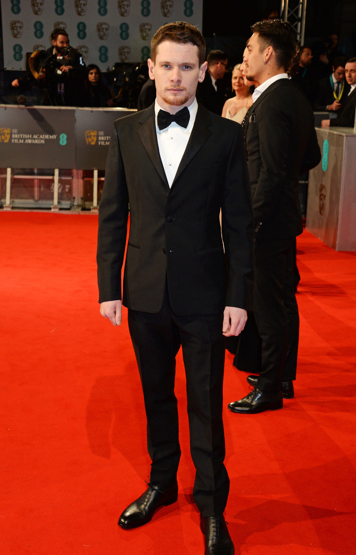 Jack O'Connell en los BAFTA 2015