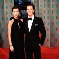 Benedict Cumberbatch y Sophie Hunter en los BAFTA 2015