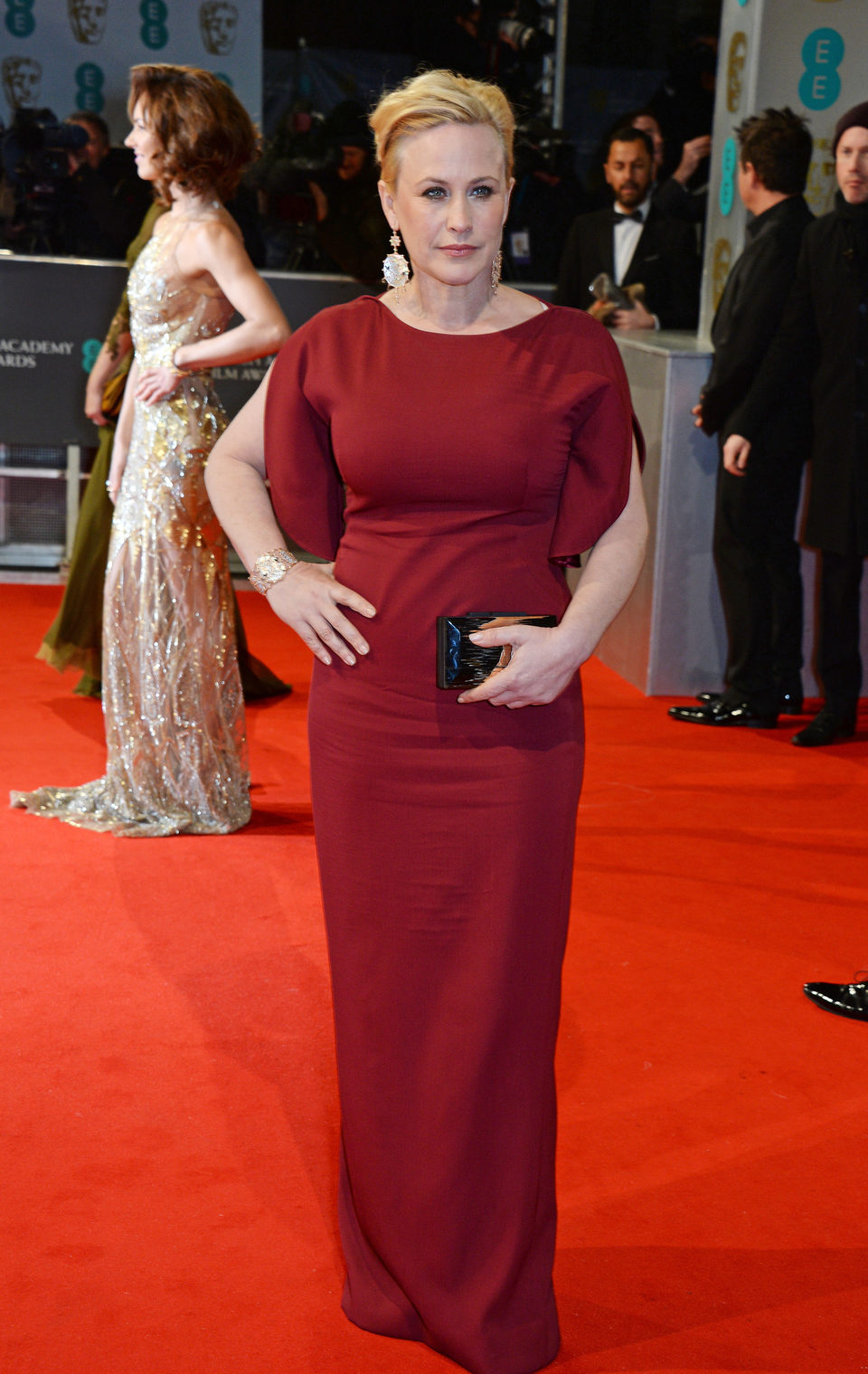 Patricia Arquette en los BAFTA 2015