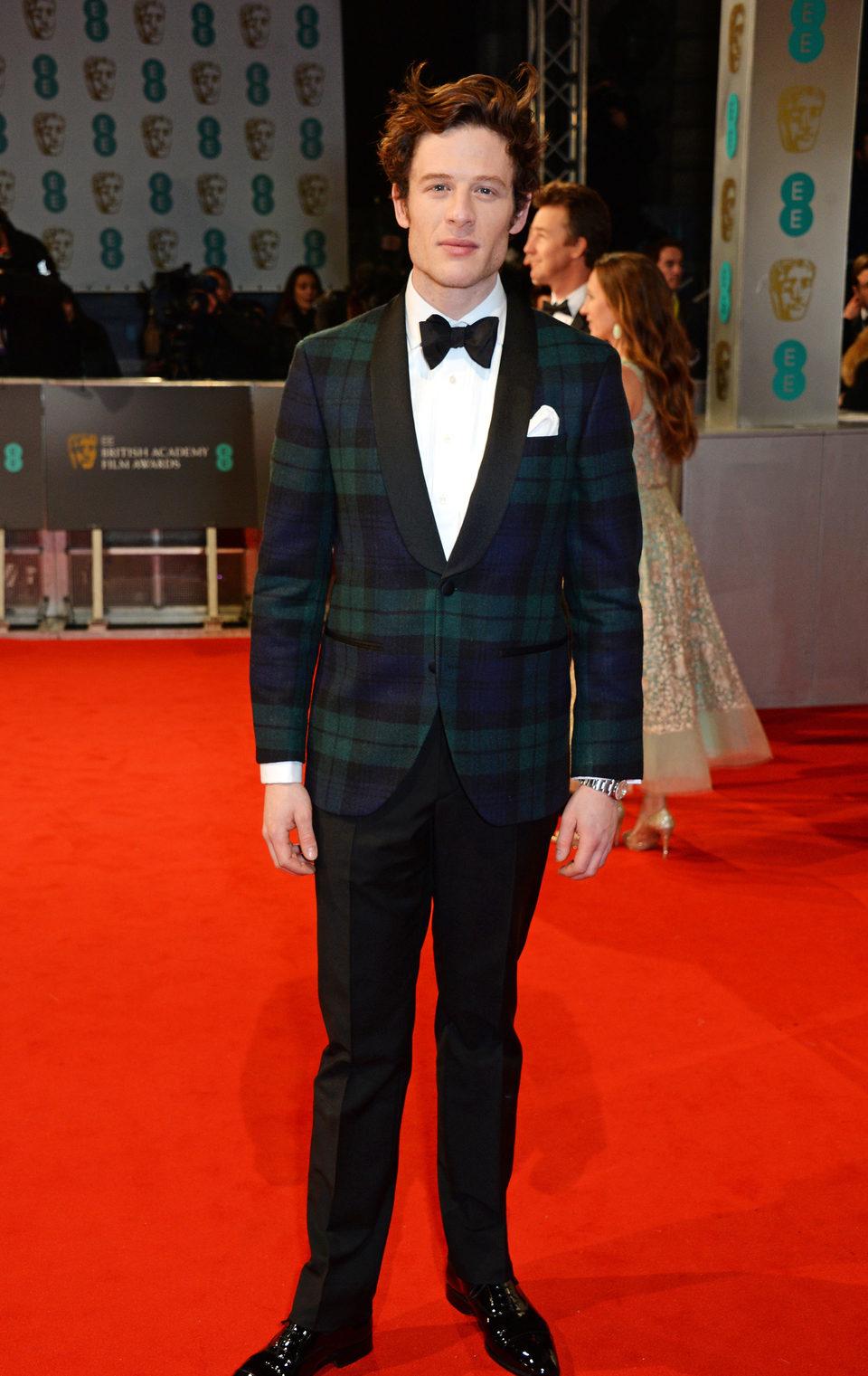 James Norton en los Premios BAFTA 2015