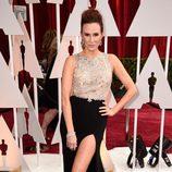 Keltie Knight en la alfombra roja de los Oscar 2015