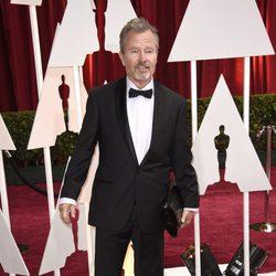 John Savage en la alfombra roja de los Oscar 2015
