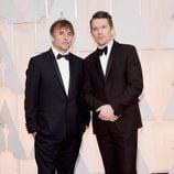 Richard Linklater y Ethan Hawke en los Oscar 2015