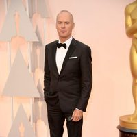 Michael Keaton at the Oscars Awards 2015 red carpet