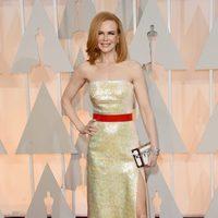 Nicole Kidman en la alfombra roja de los Oscar 2015