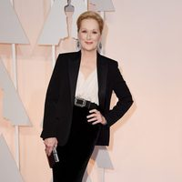 Meryl Streep en la alfombra roja de los Oscar 2015