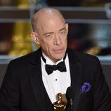 J.K. Simmons recibe el premio Oscar al Mejor actor de reparto